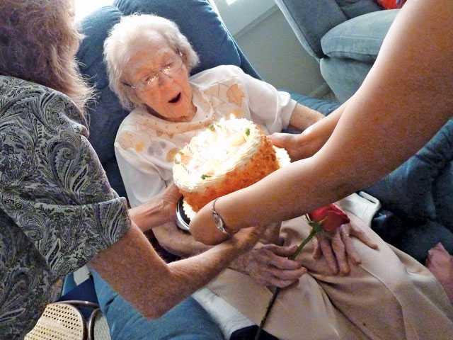 Longtime resident turns 95