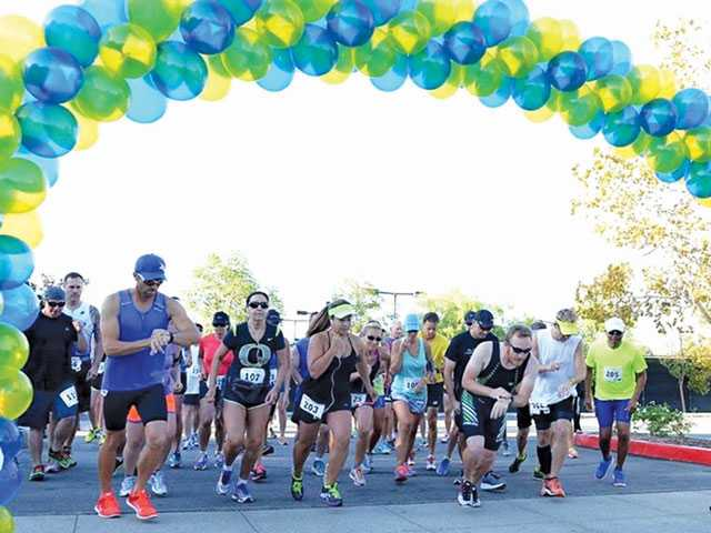 Triathletes race for Christmas in September