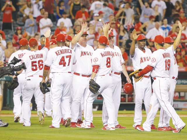 Angels clinch playoff spot with victory