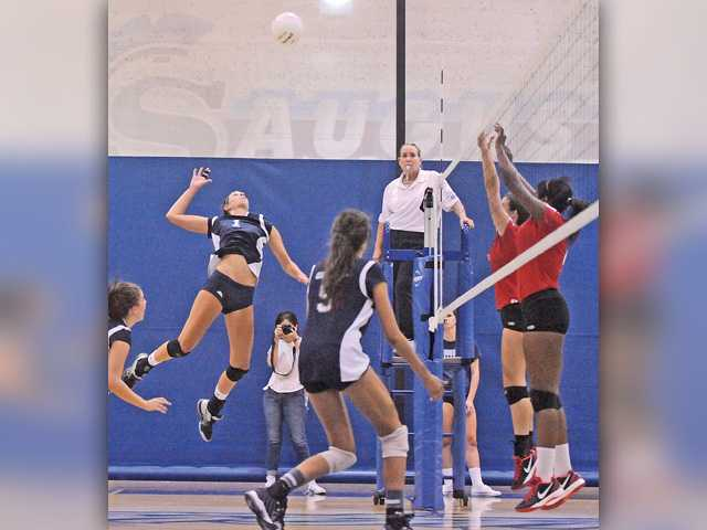 Saugus volleyball taken by Village