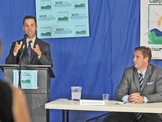 CORRECTION: Congressional candidates meet in SCV forum