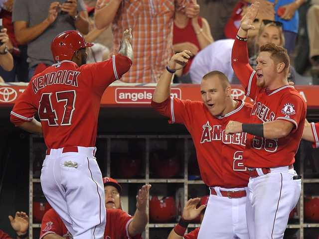 Angels secure AL West Division title