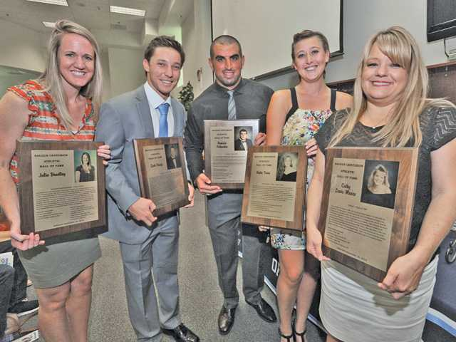Saugus High honors Hall of Fame Inductees