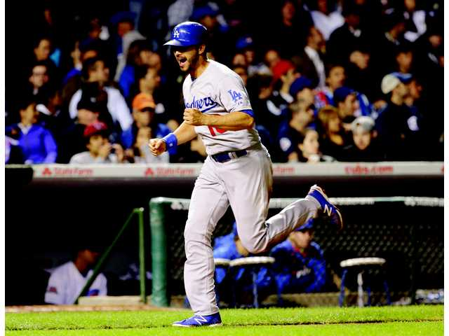 Dodgers rally to beat Cubs