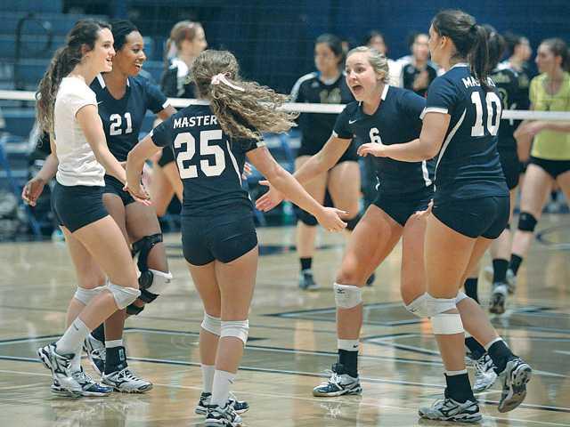 TMC women's volleyball beat La Sierra University 3-0