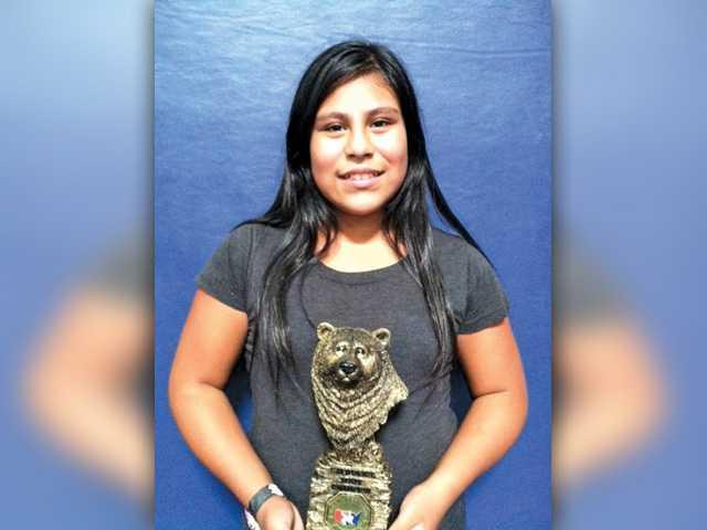 Girl wrestler sweeps state championship