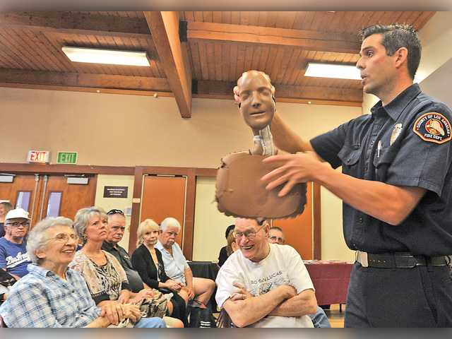 Senior Center hosts disaster preparedness workshop