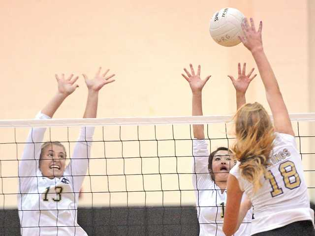 Foothill V-Ball roundup: Valencia fires away at West Ranch