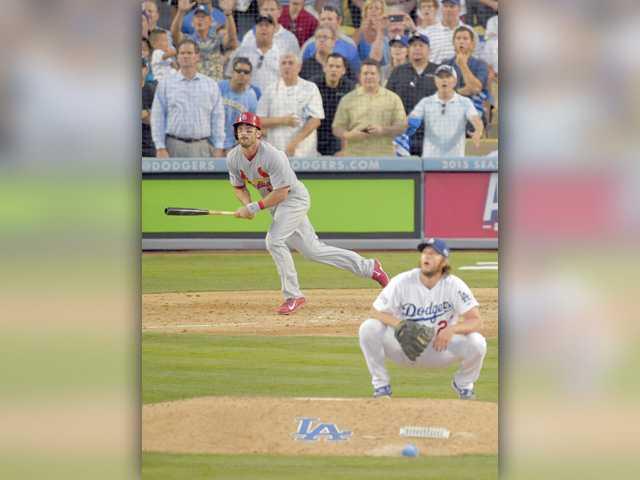 Cardinals beat Dodgers after Kershaw wilts