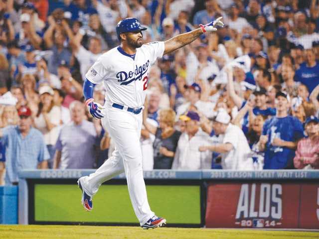 Matt Kemp's homer lifts Dodgers