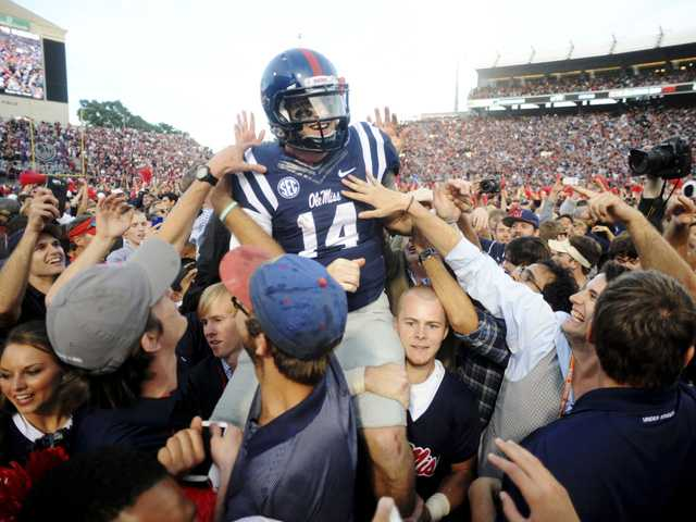 Ole Miss topples No. 3 Alabama