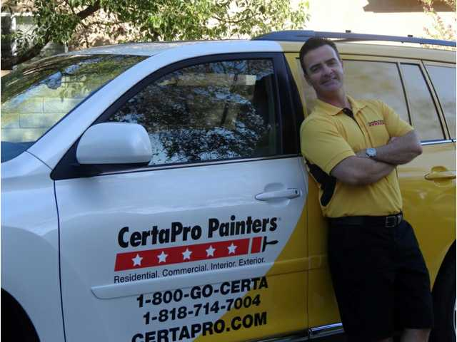 SCV resident buys home painting franchise