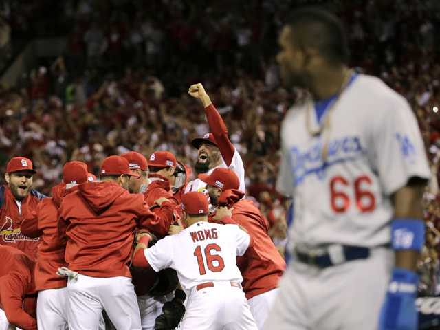 Cardinals sink Dodgers, Kershaw to win series