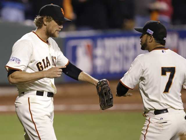 Giants top Nationals, return to NLCS vs Cards