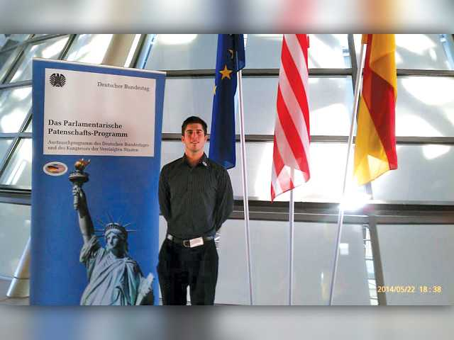 Local student returns from work exchange program in Germany