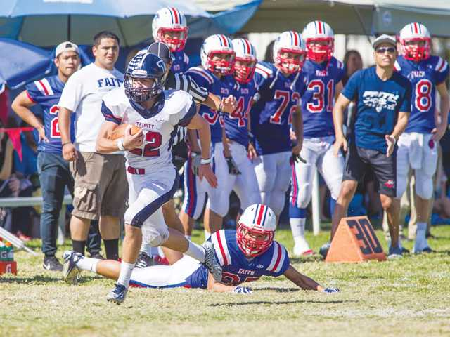 Trinity football proves big point