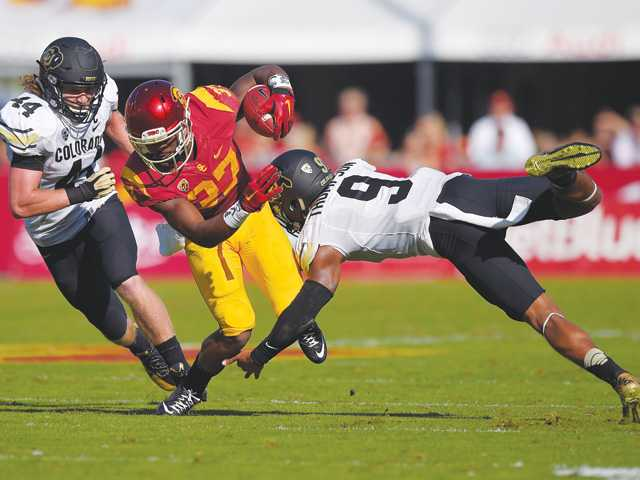 Record falls as USC beats Colorado