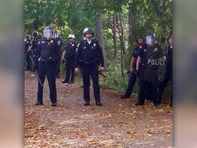 Arrests after pumpkin festival turns to mayhem