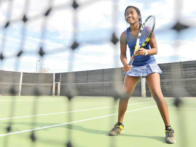 West Ranch tennis' Waltereze is rising