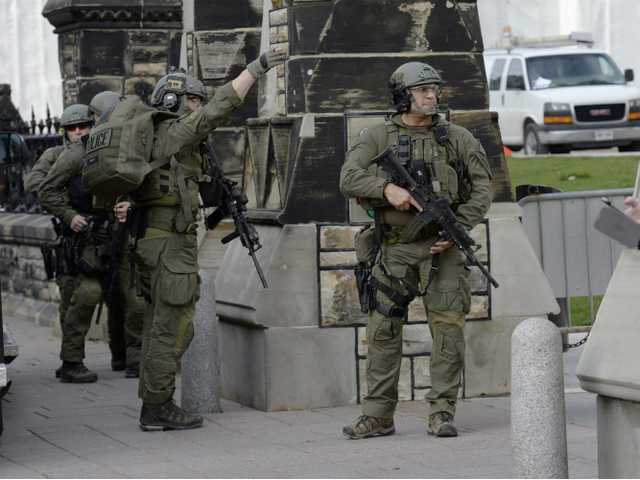 UPDATE: 2 dead in shooting attack at Canada's Parliament