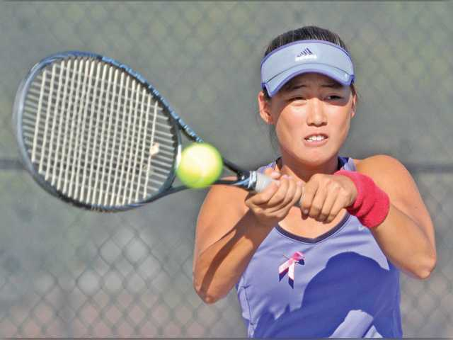 Foothill tennis roundup: Valencia beats Hart takes title