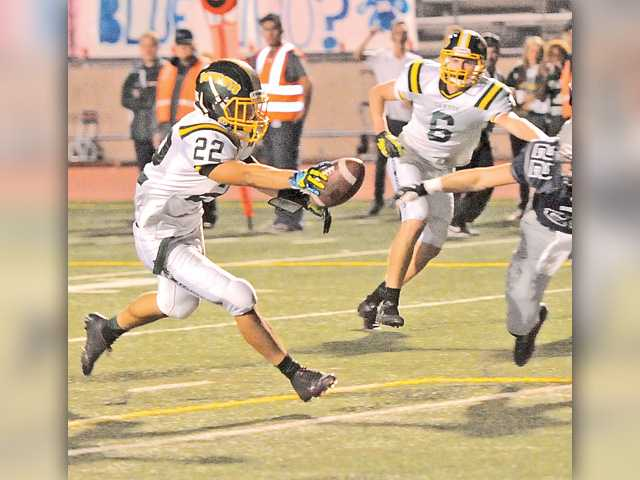 Canyon holds off Saugus in penalty-filled affair
