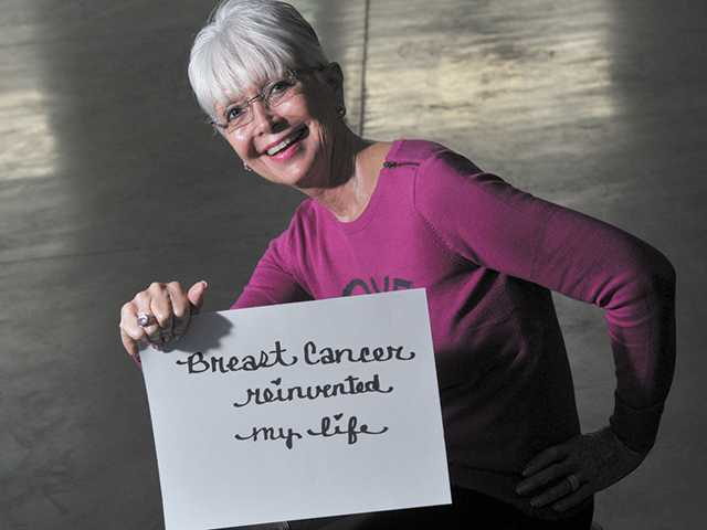 Breast cancer reinvented my life