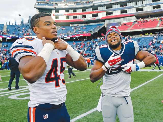 Vereen brothers share field in NFL game