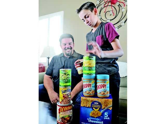 10-year-old Saugus boy to sponsor SCV Food Pantry food drive Saturday