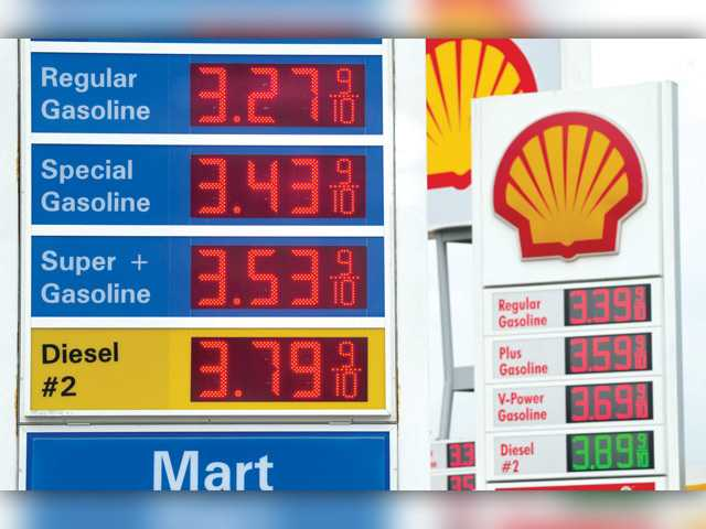 Gas prices continue slide into holiday season