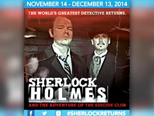 Sherlock Holmes returns to The REP