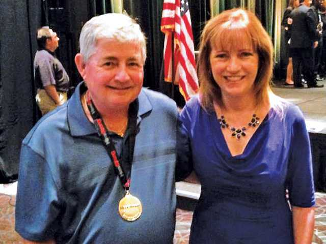 Local audiologist  nominates honored veteran