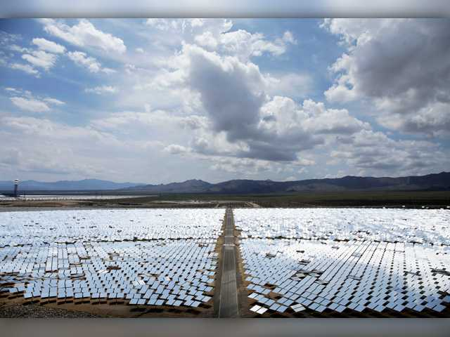 Huge solar plant lags in early production