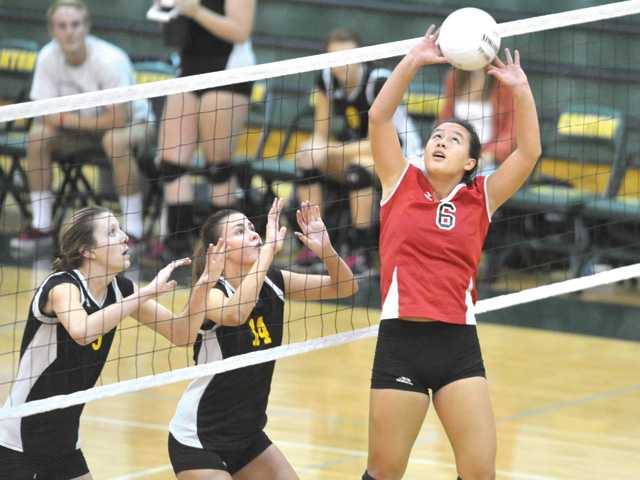 Indermill, Knudsen named Co-Volleyball Players of Year