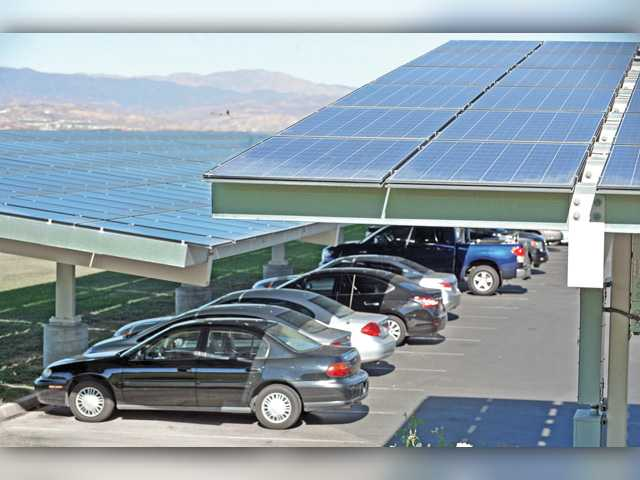 Solar arrays continue to save green for Hart district