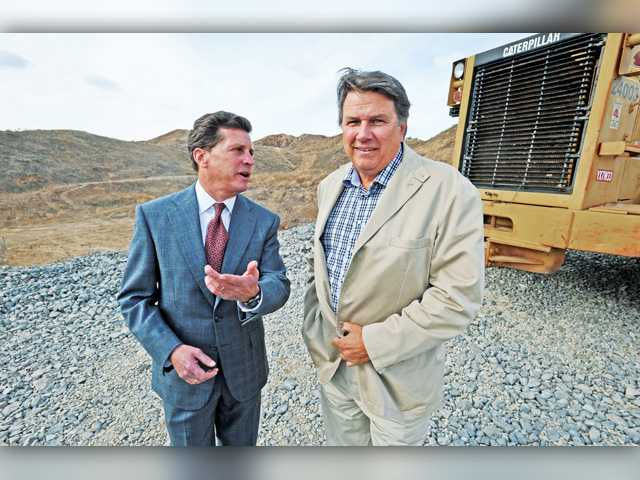 Building begins at new industrial park