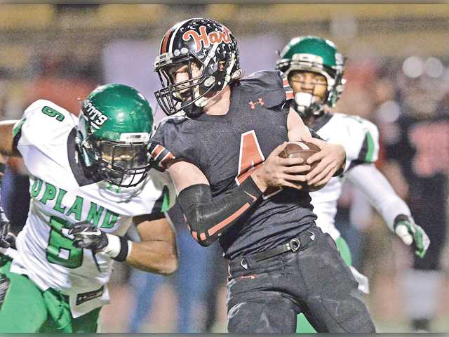 Hart football knocked out by Upland