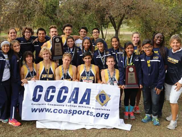 COC men win state cross country title