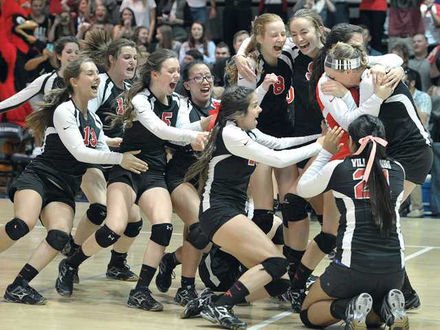SCCS becomes first SCV girls V-ball team to win CIF title