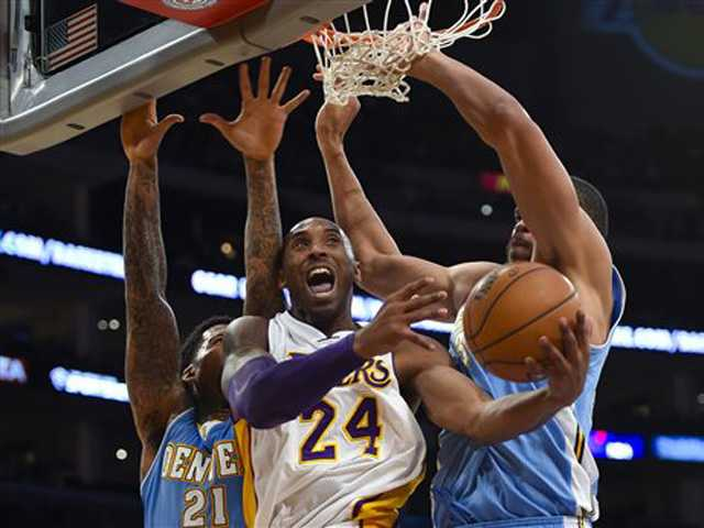 Lakers lead, then fall in overtime to Nuggets
