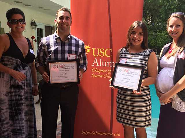 USC alumni group awards scholarships