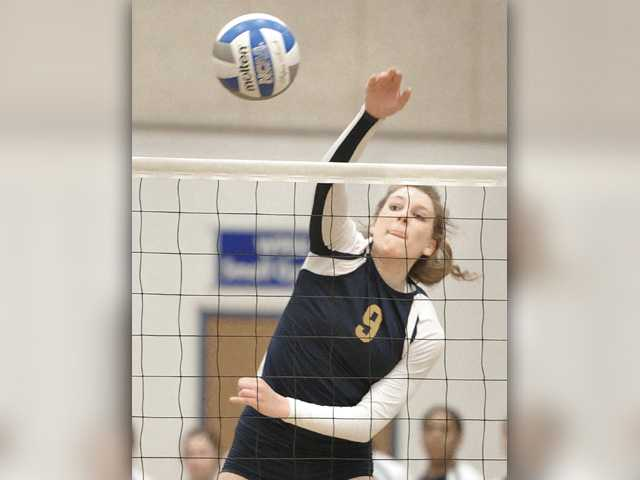 Serena LeDuff named All-State volleyball