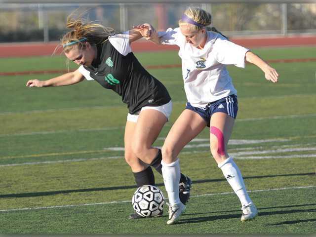 West Ranch girls soccer squander opportunities in 2-1 loss