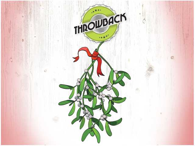 Pucker up under the mistletoe, but don't eat it!