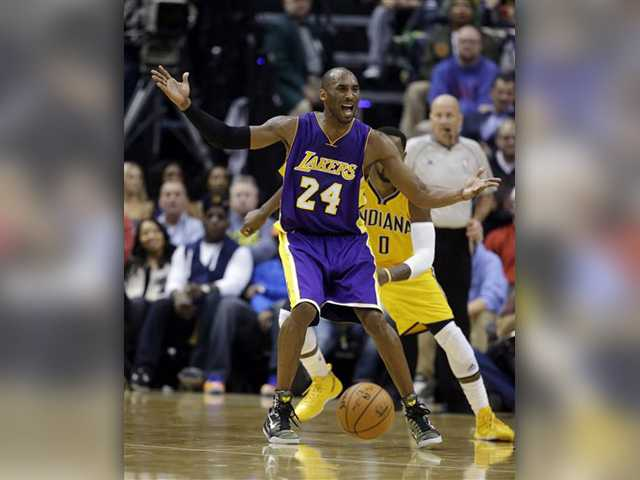 Lakers put on poor encore against Indy