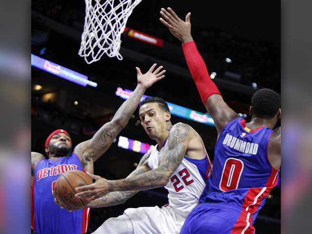 Griffin, Jordan lead Clippers over Pistons 113-91