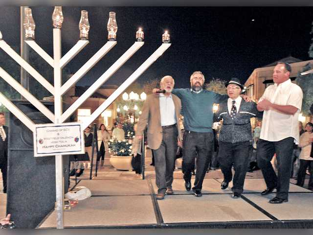 SCV Hanukkah celebrations abound