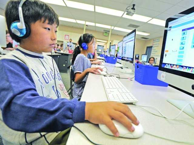 Local students learn problem-solving skills through code