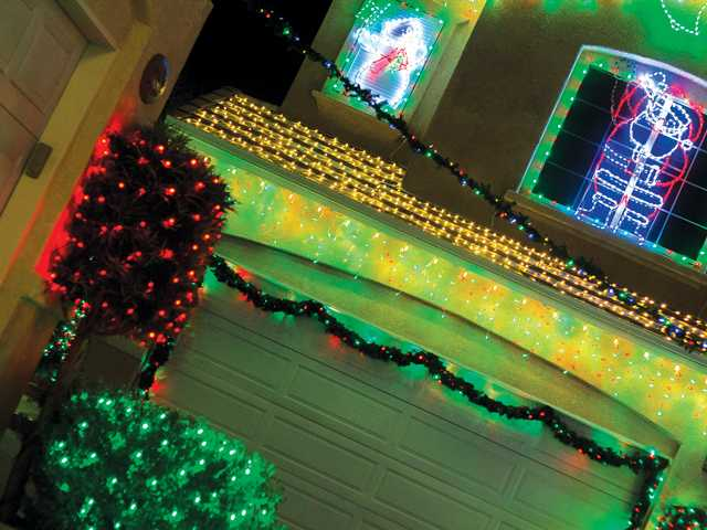 More Holiday Lights Contest homes and streets