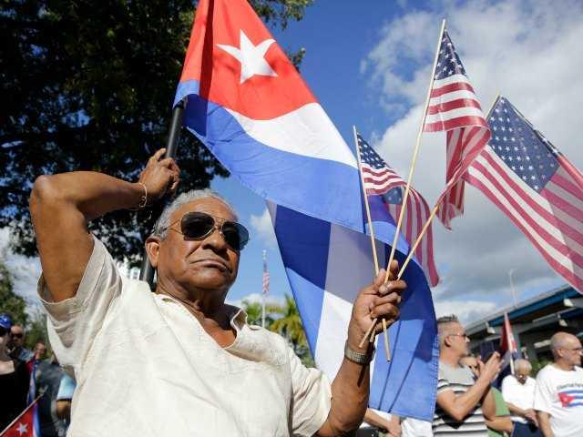 Protesters slam closer Cuba ties
